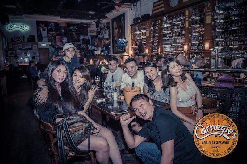 Social gathering in Carnegie's