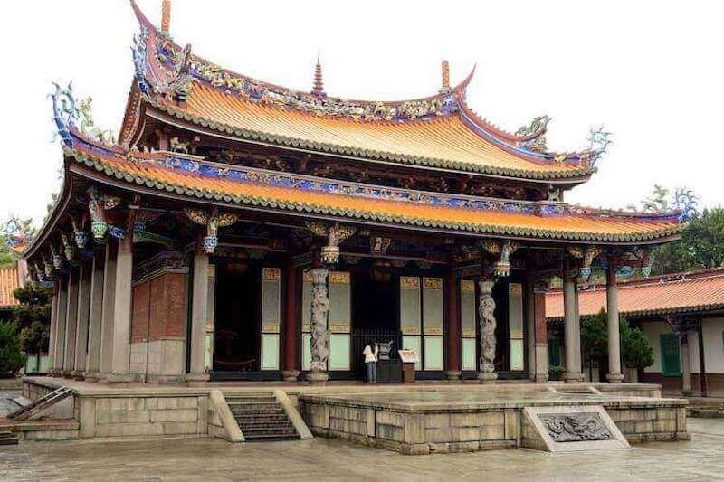 The Confucius Temple in Taipei