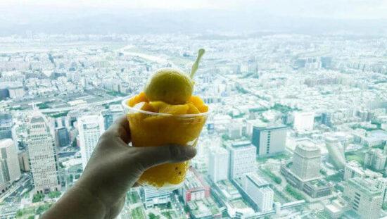 Taipei View from Taipei 101