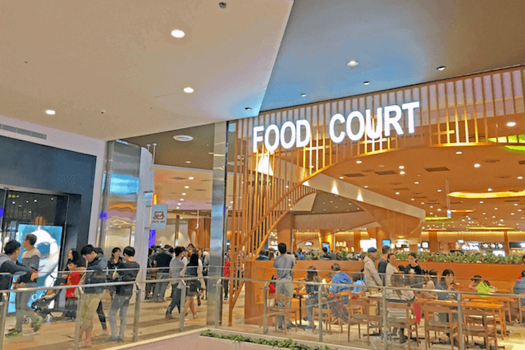 Mitsui Outlet food court