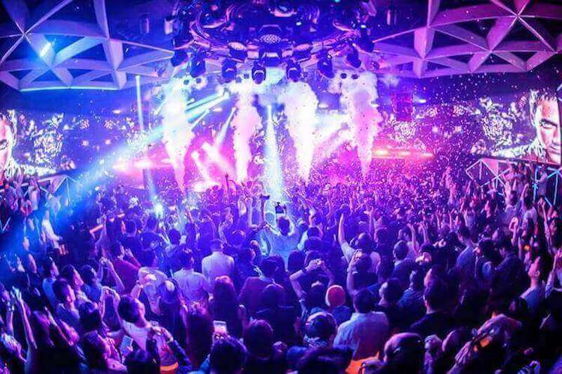 Inside ONMI Nightclub