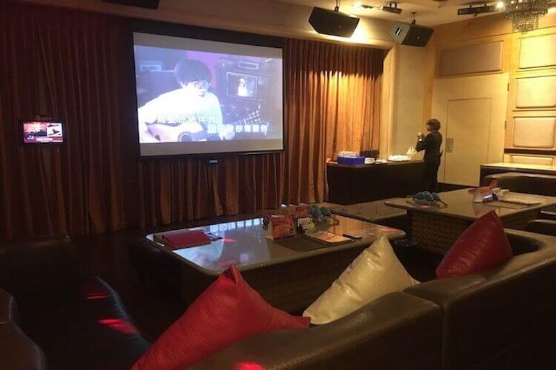 Inside Party World KTV