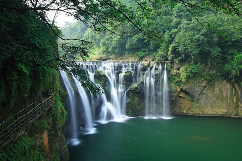The Shifen Waterfall