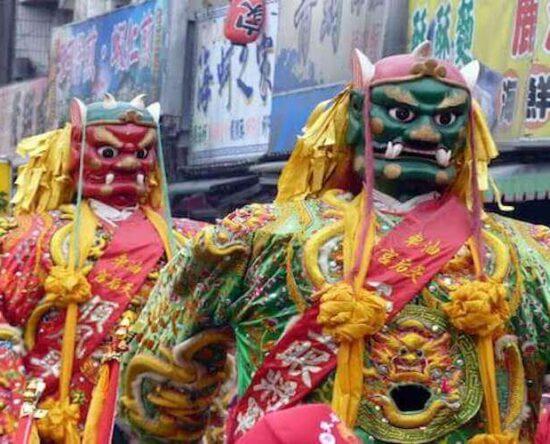 Taiwan Temple Parades