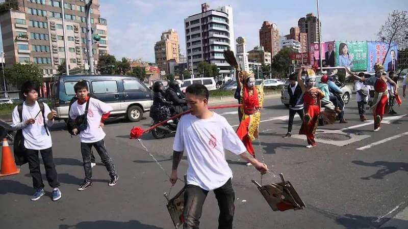 Taiwanese temple parades