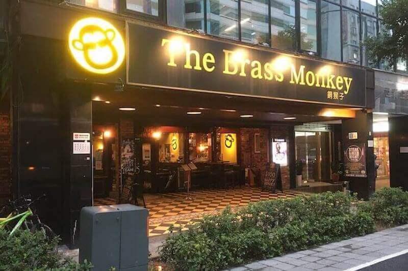 The Brass Monkey entrance