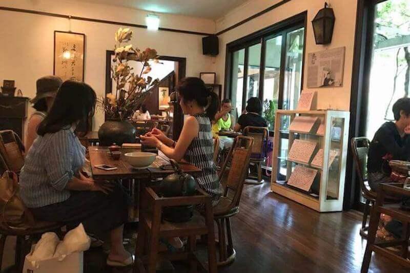 Wisteria Tea House Inside