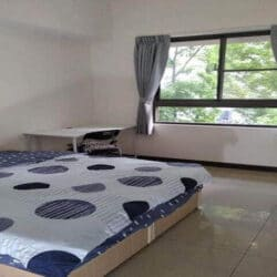 Spacious double bedroom, available now!