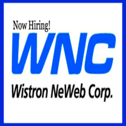WISTRON NEWEB CORPORATION is now looking for Female Factory Workers