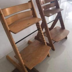 Wooden Kids Highchair