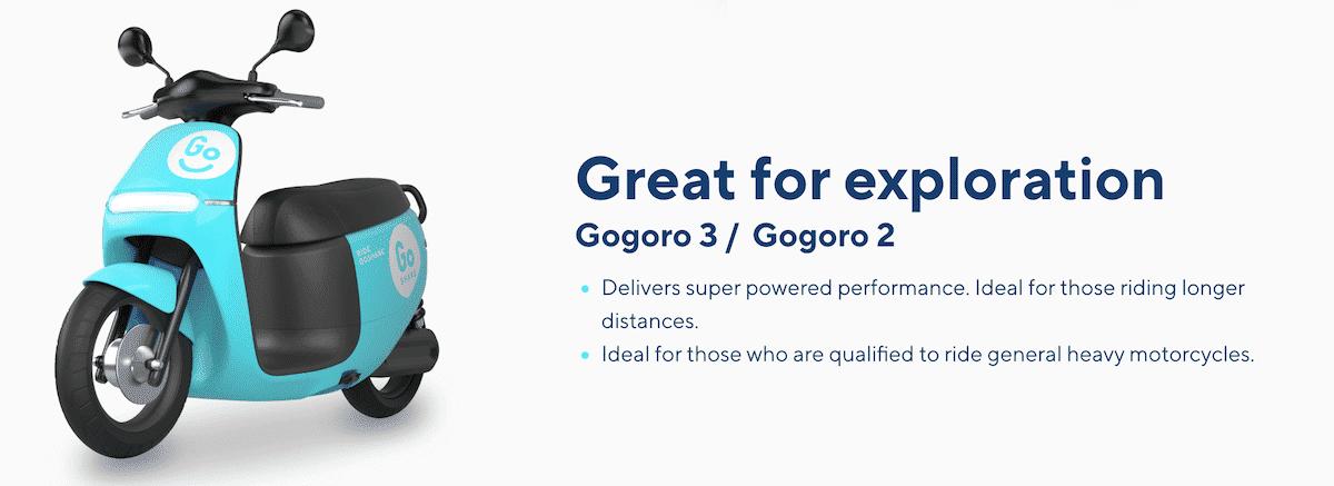 Gogoro 2 and 3