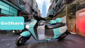 The Gogoro 2 scooter