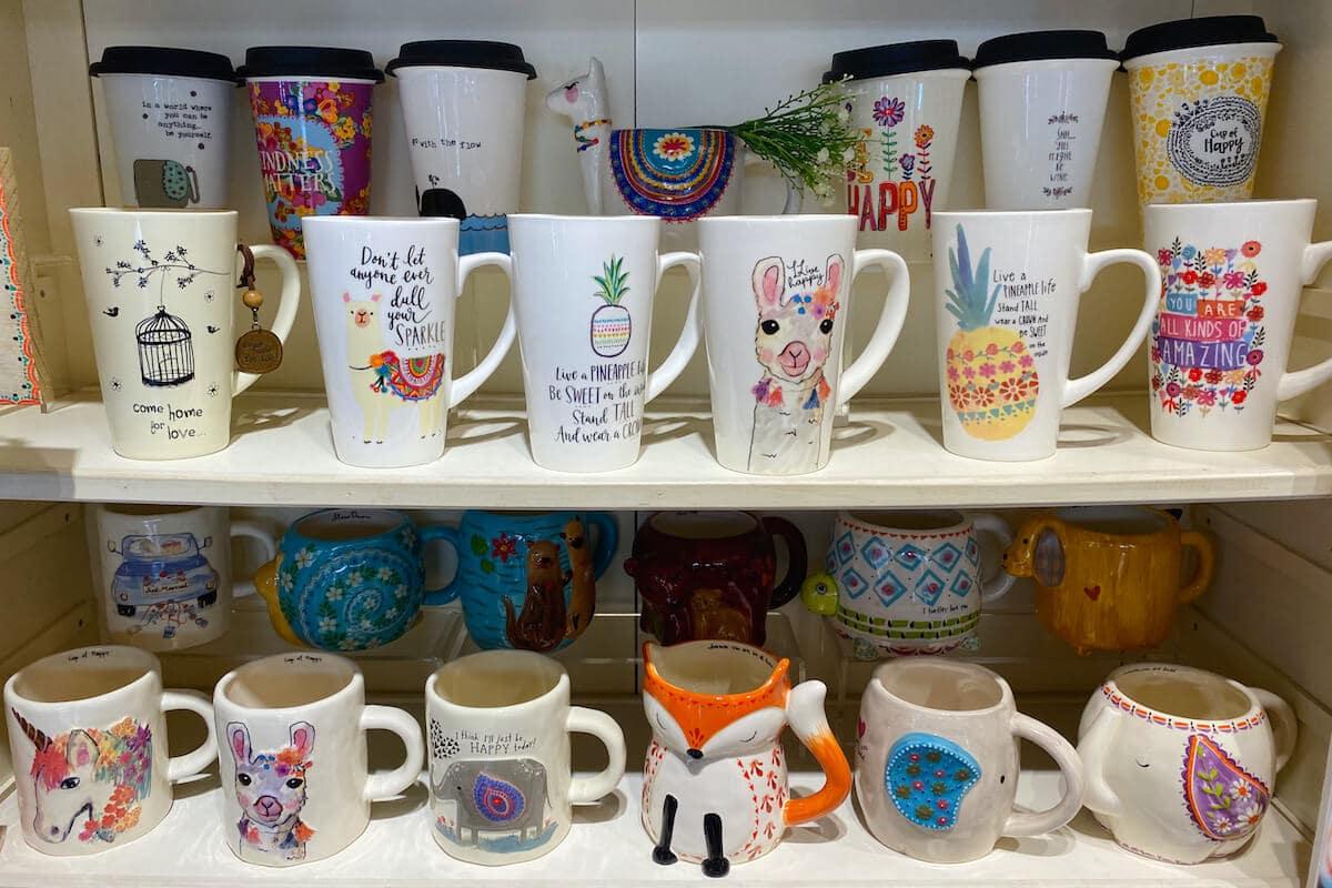 Larger mugs