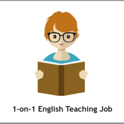 1-on-1 English Private Tutor Job