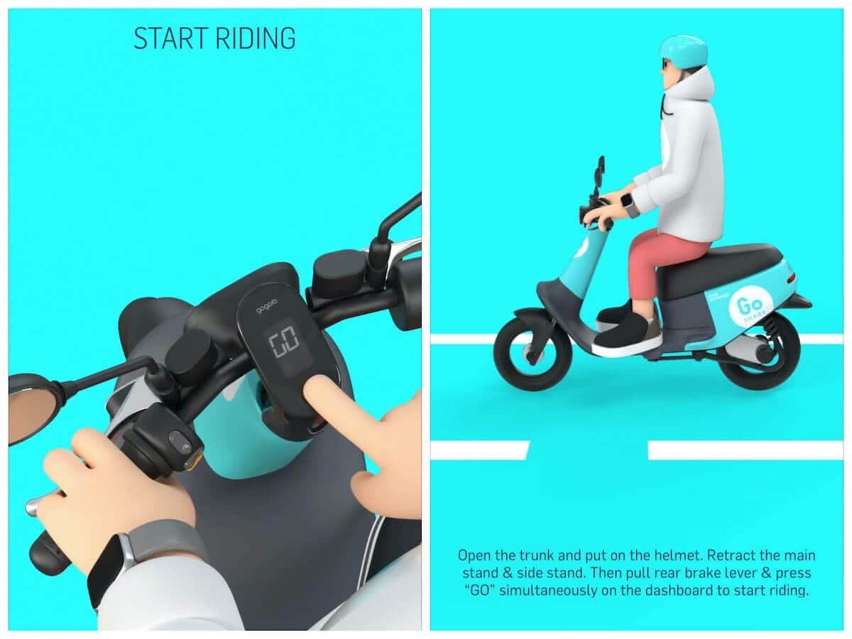 How to start riding