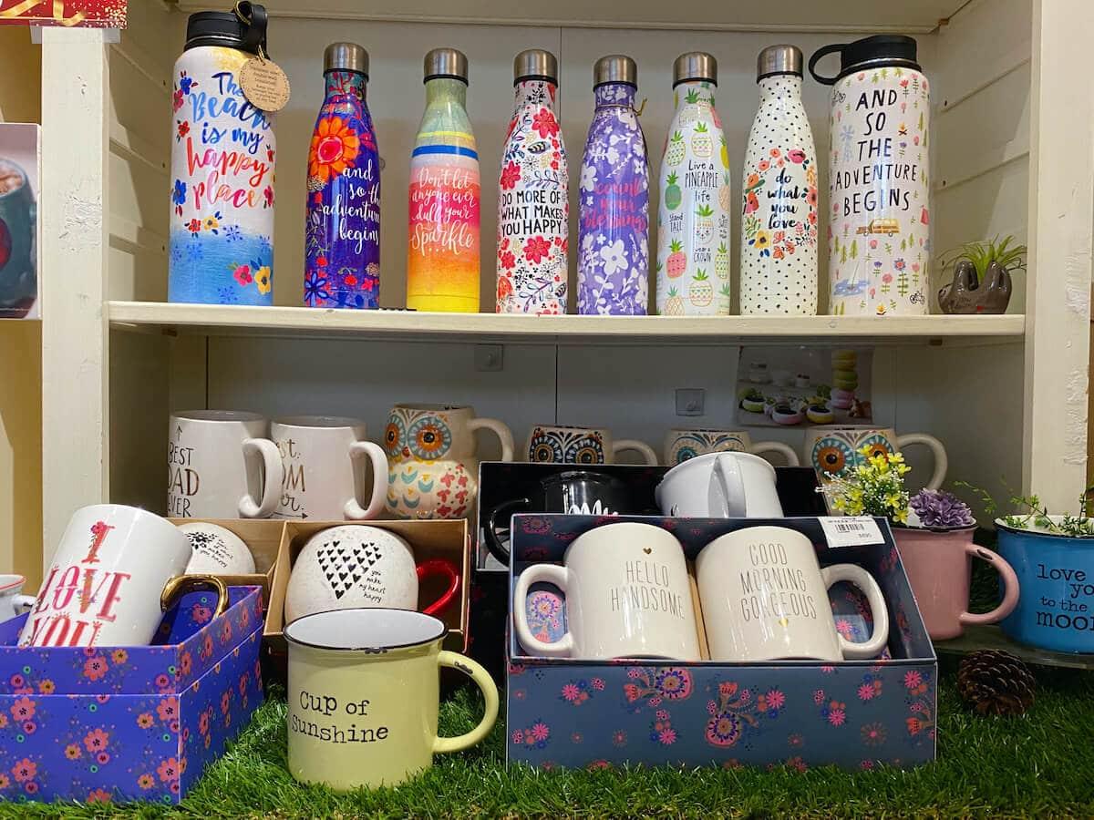 Water bottles & cute mugs