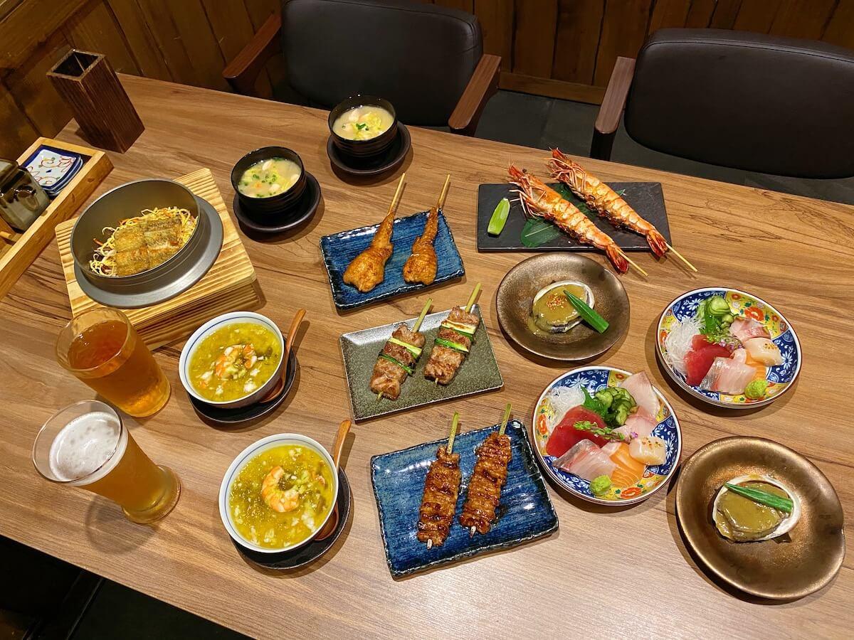 Full set table