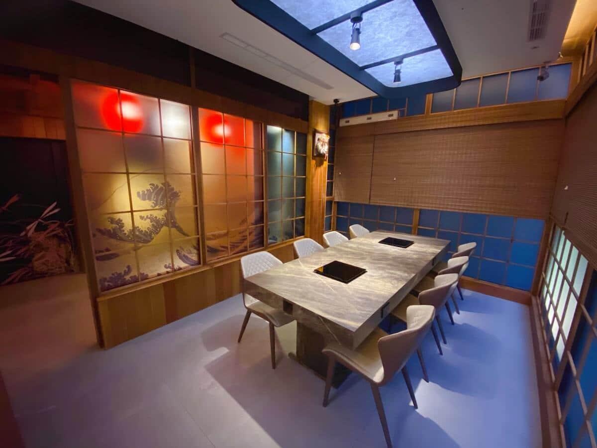 Hot pot room