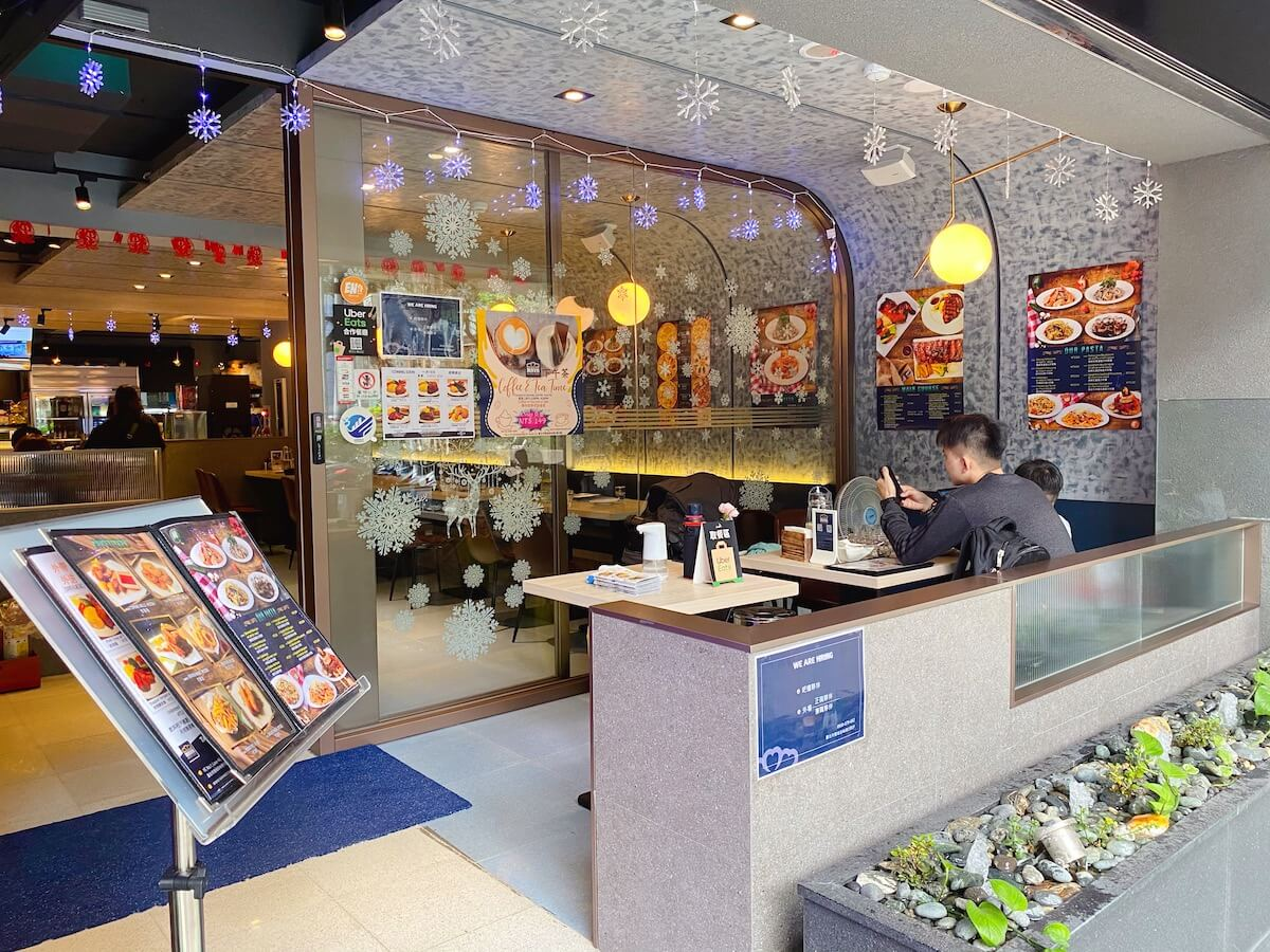 Maya Resto Cafe outside