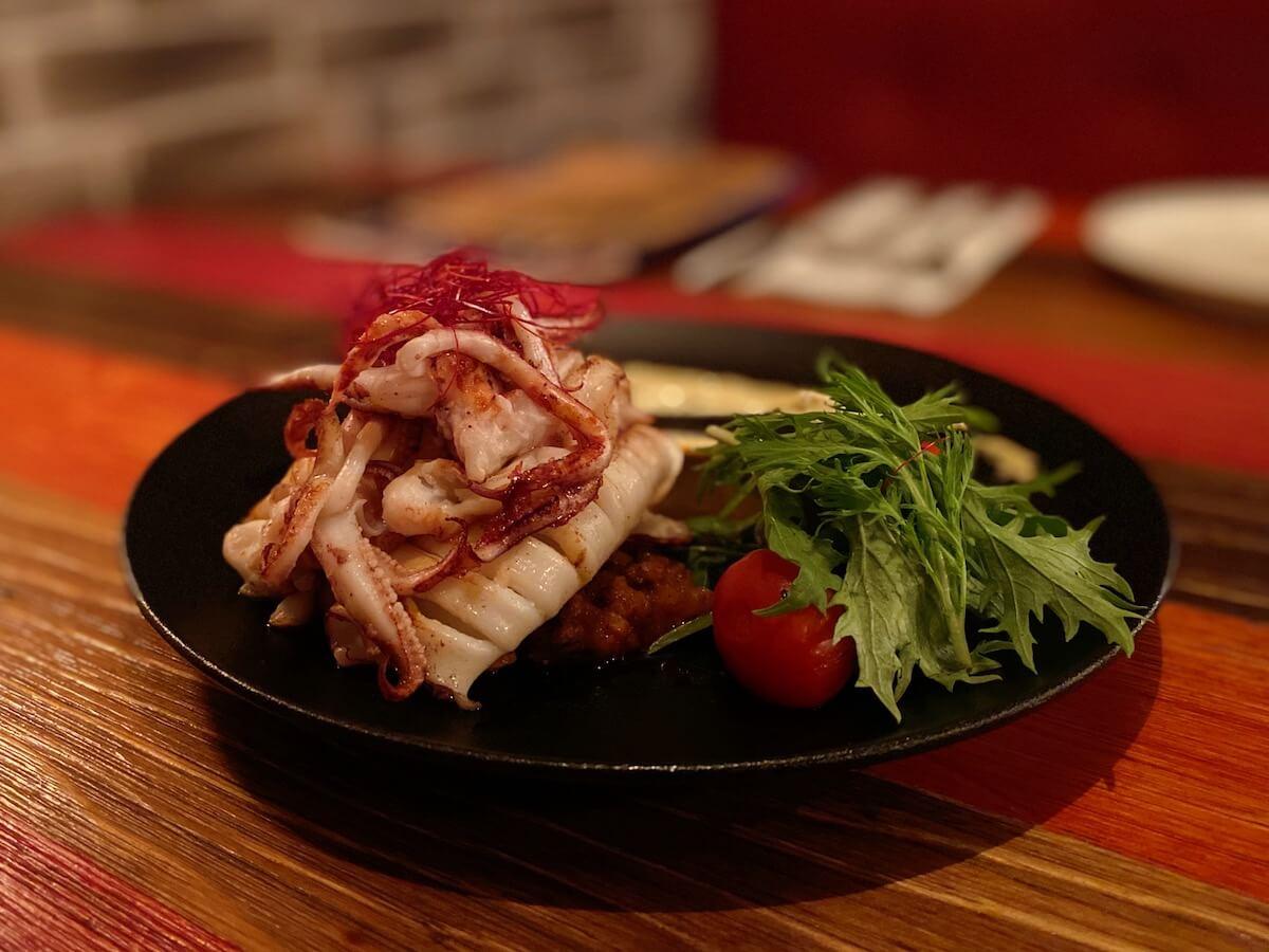 Fried Squid (focused)