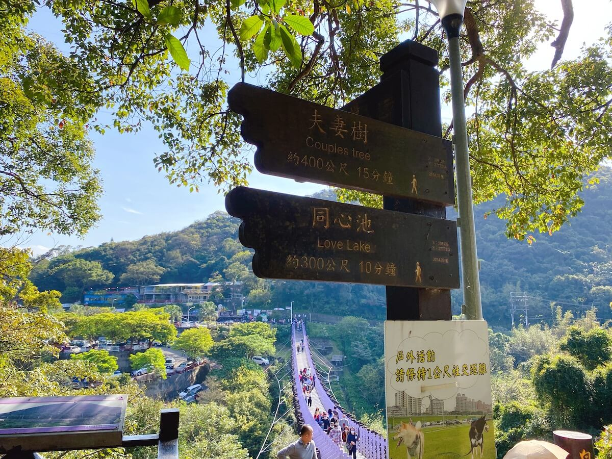Signpost to Love Lake