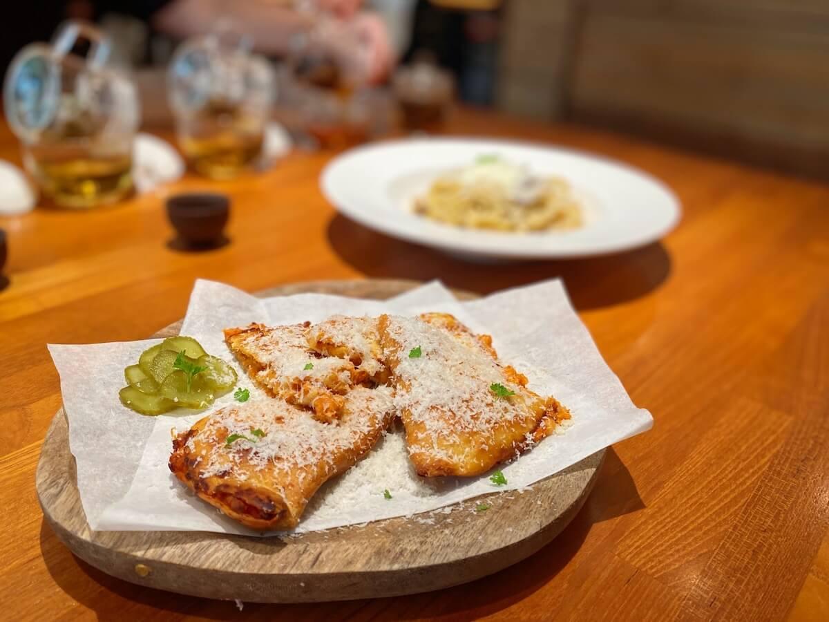 Quesadilla with Kimchi Chicken
