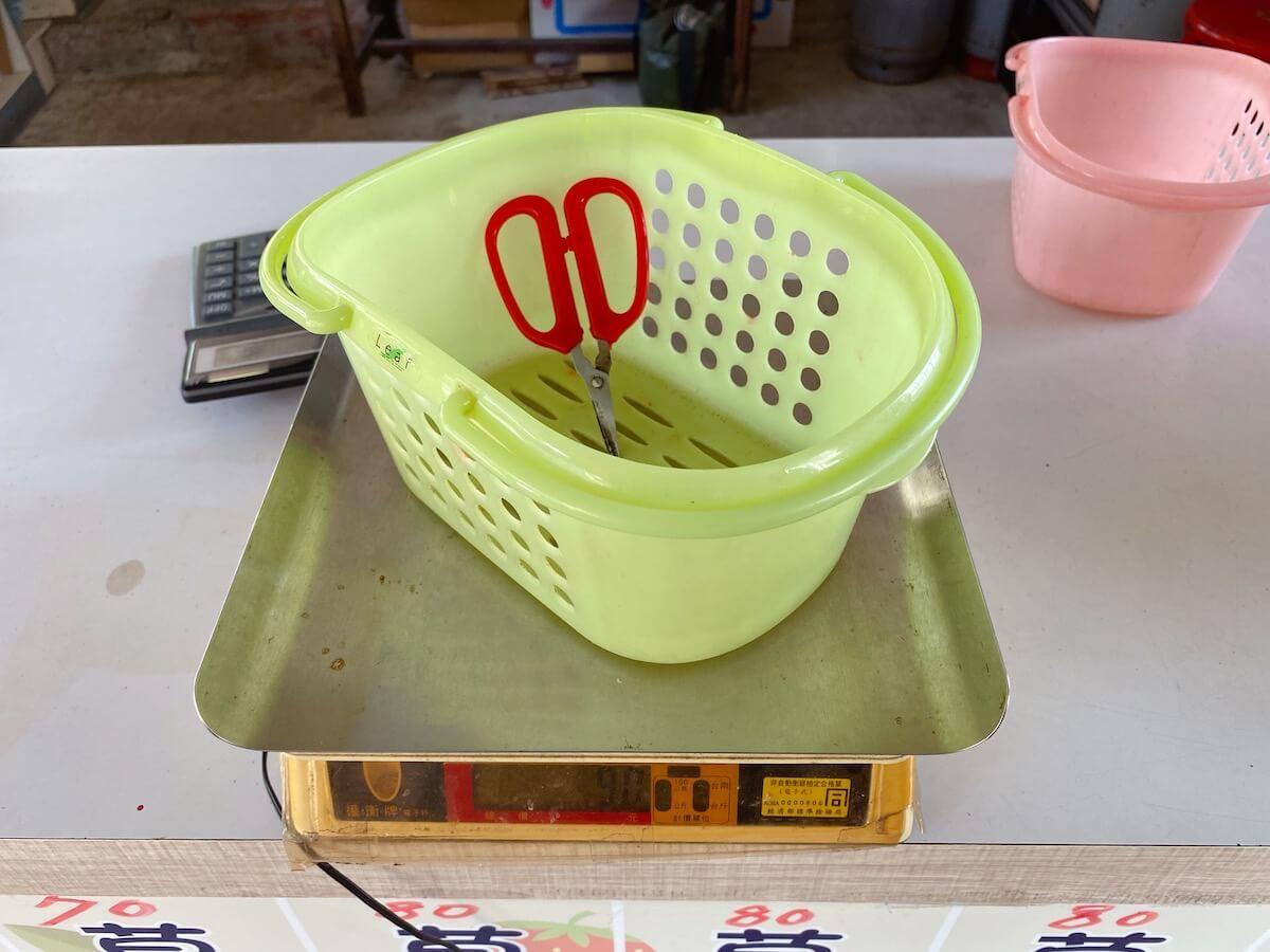 strawberry picking basket