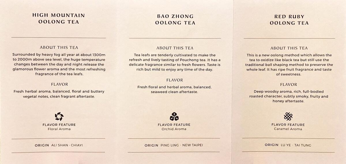 Tea info leaflet 1