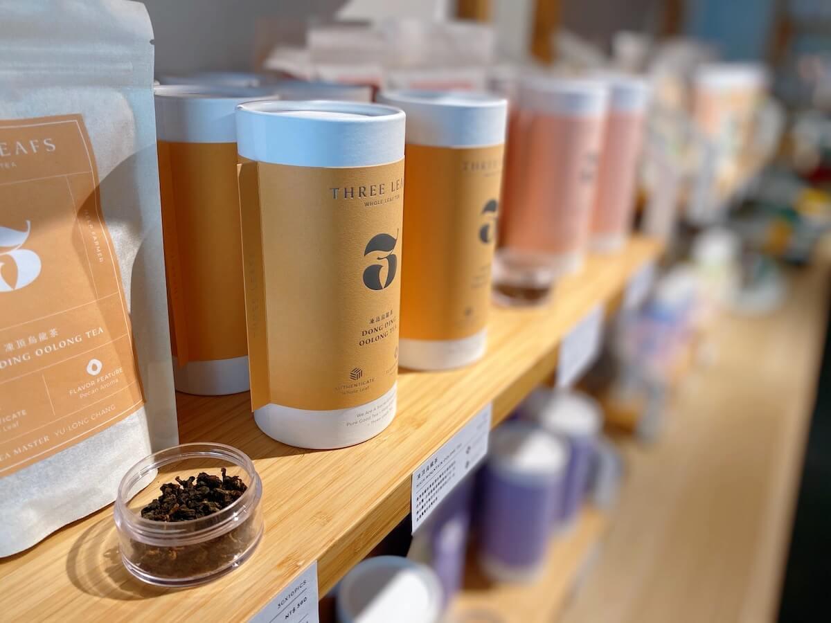 Three Leafs tea products