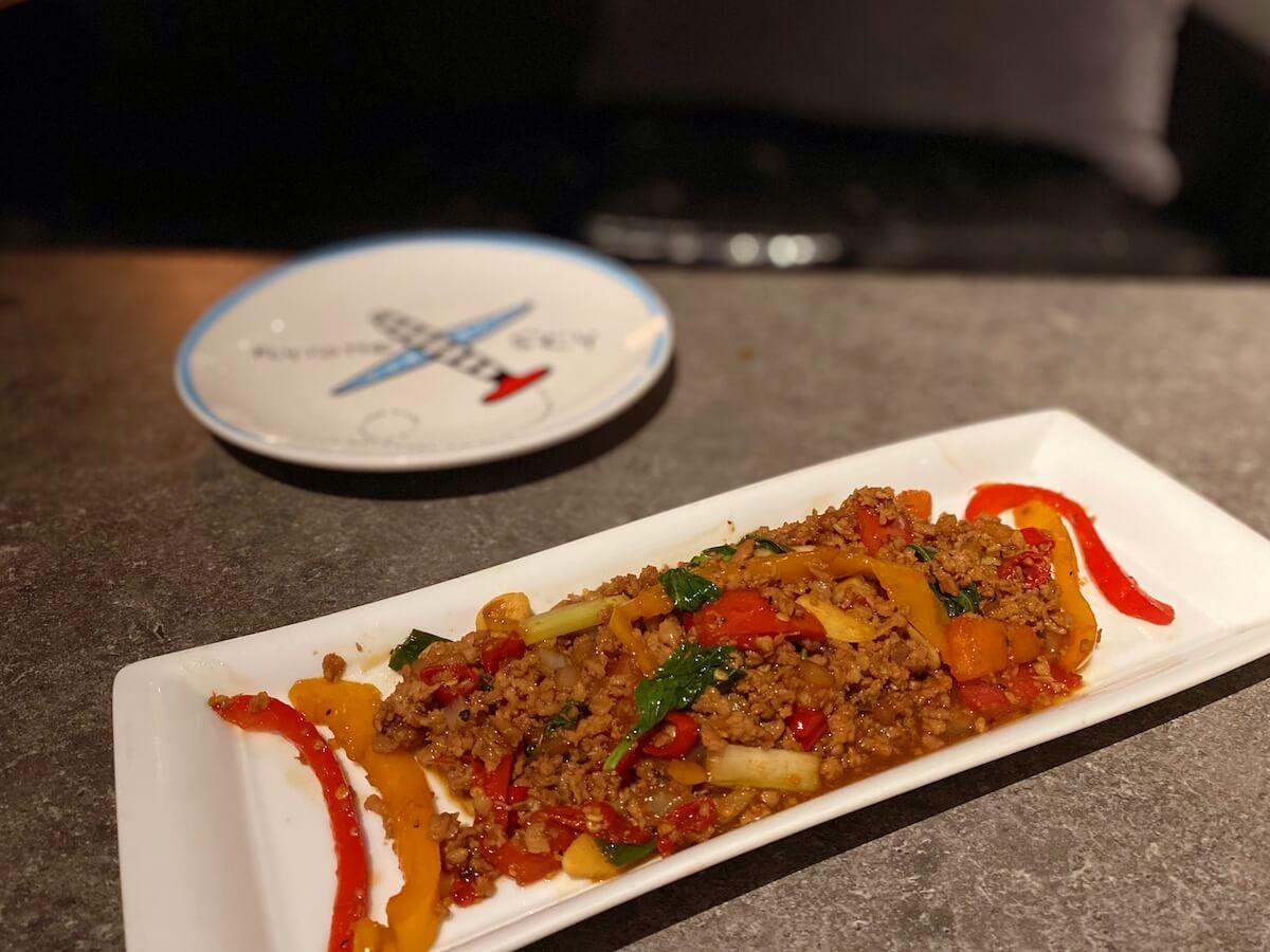 Thai stir-fry with pork