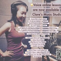 Bilingual Voice online lessons are now available!