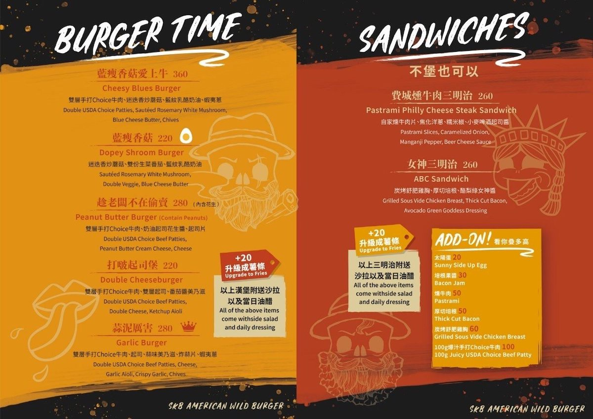 Burger Time and Sandwiches