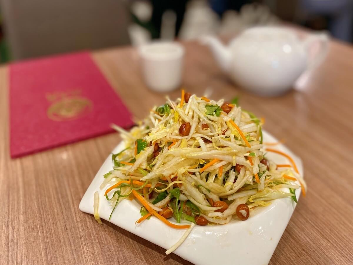 Special cold-mixed Chinese Salad