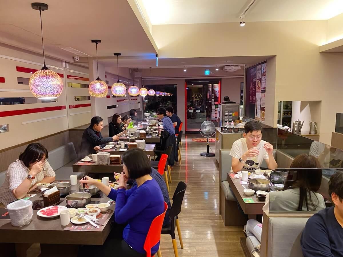 Hongjojo hot pot restaurant