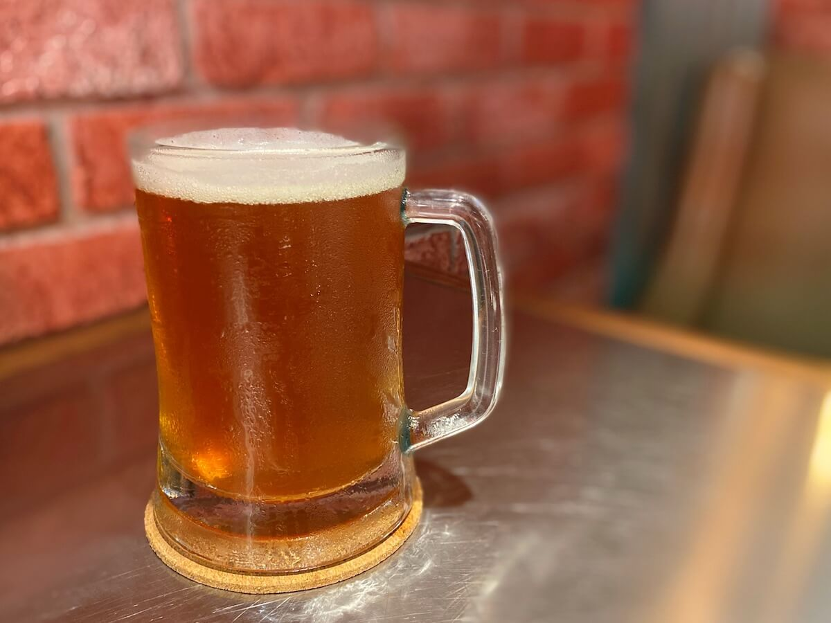 IPA draft beer