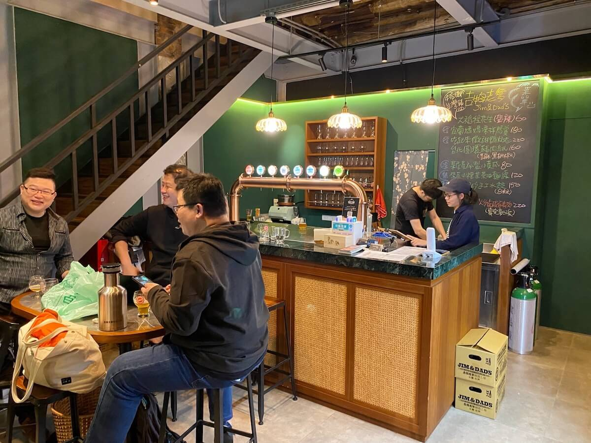 Jim and Dad's (bottle shop and taproom)