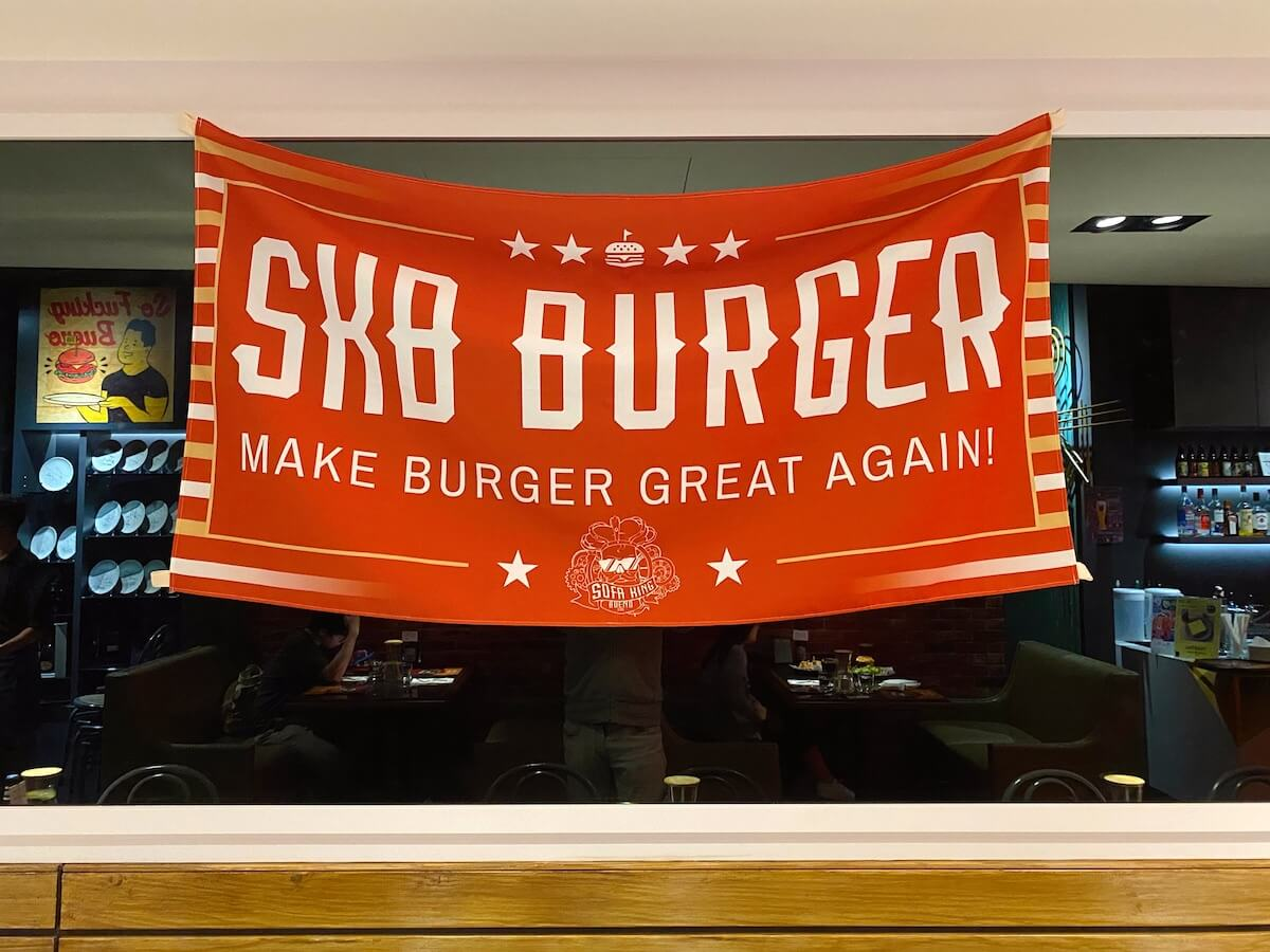 Make Burgers Great Again banner