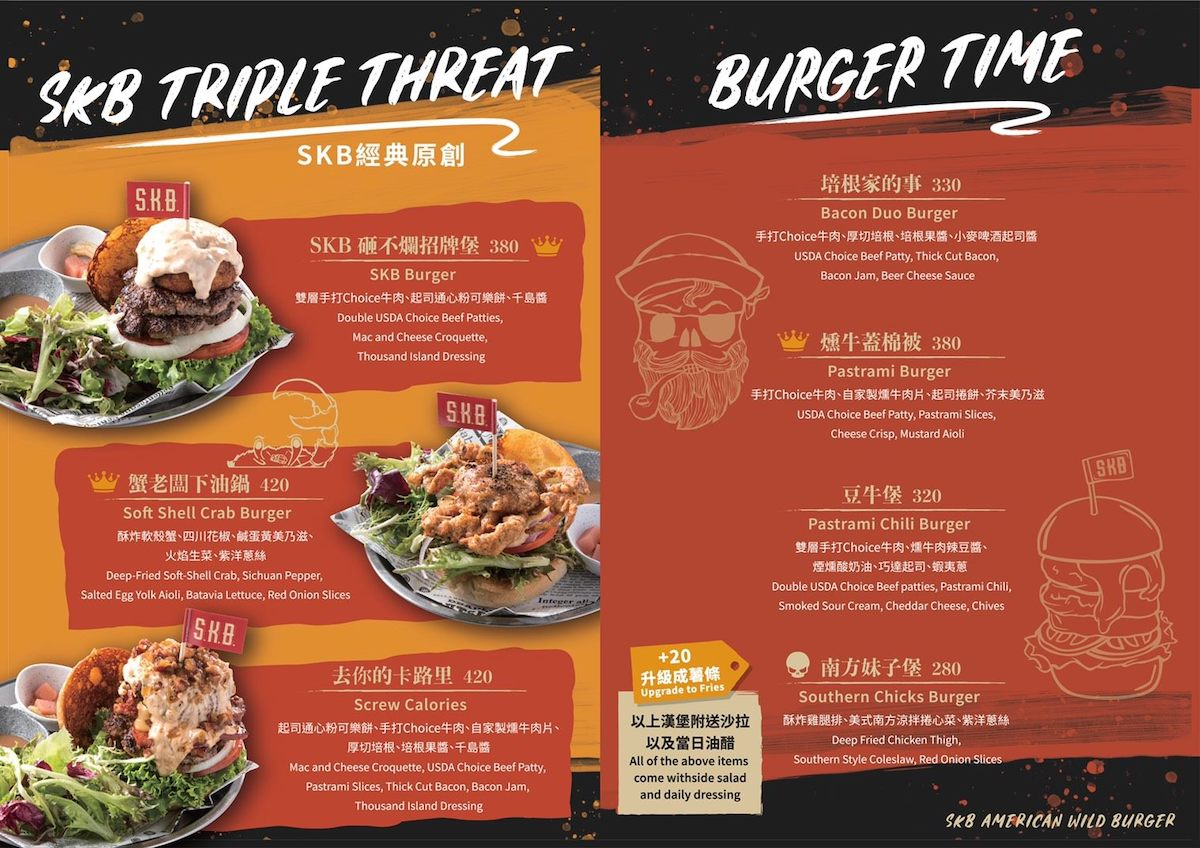 SKB Triple Threat and Burger Time