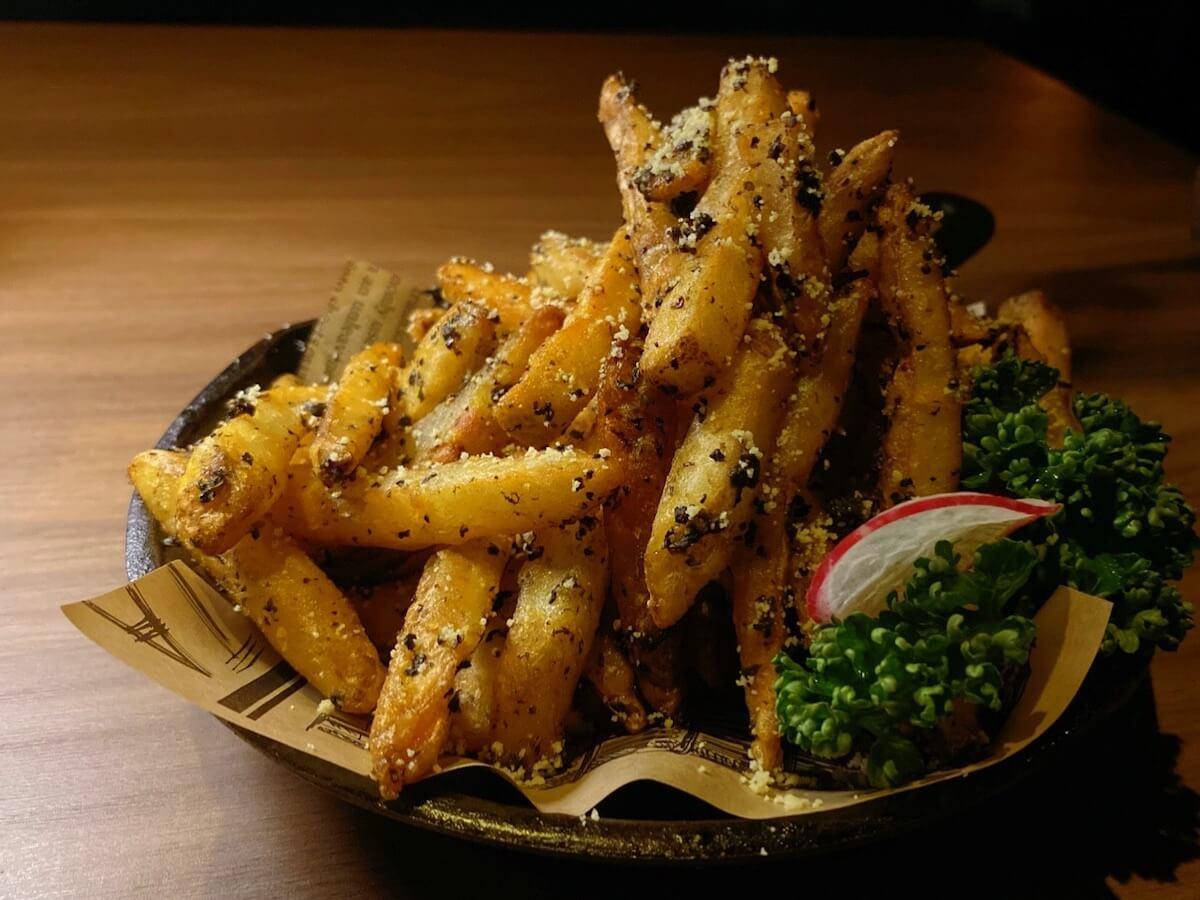 Truffle Fries (focused)